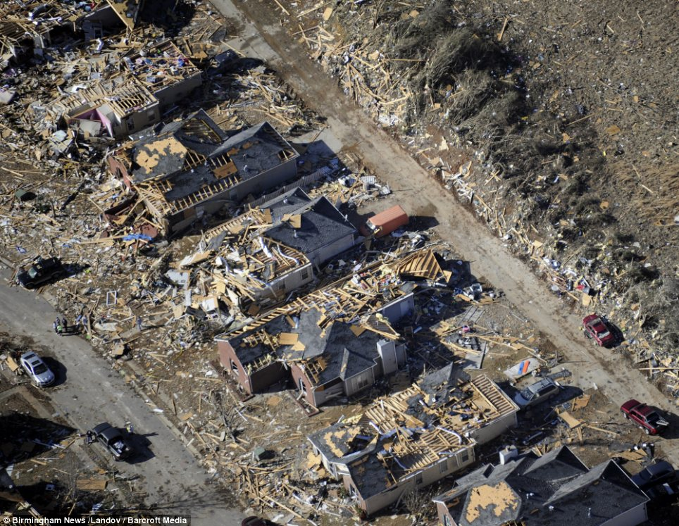 Tornado Devastates Homes in Birmingham, Alabama